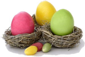 Easter Eggs | We celebrate all the festivals and long weekends at the Lynn valley assisted living centre.